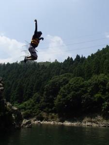 飛び込みの写真