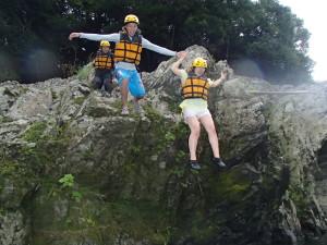 飛び込みジャンプ