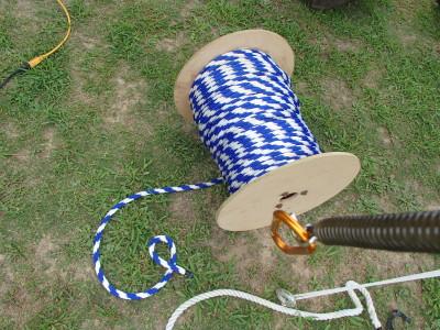 交換用のロープ