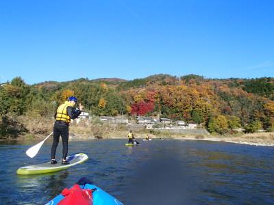 紅葉の保津川上流コース
