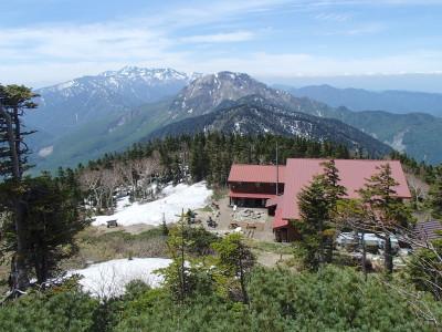 西穂高山荘