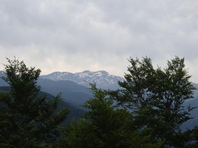 白山ベンチからの眺め