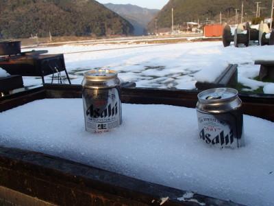 ビール冷え冷え