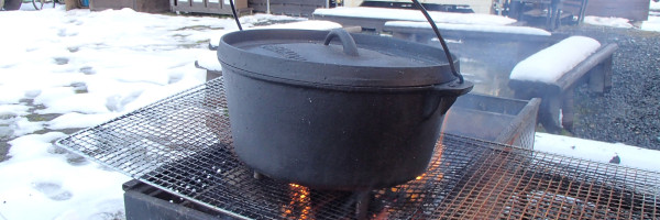冬のダッチオーブン