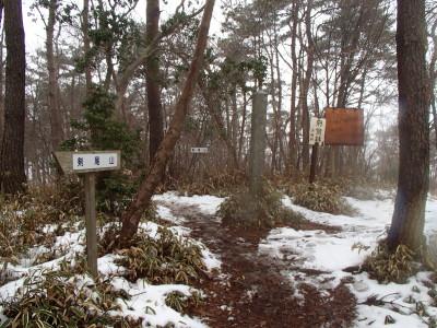 横尾山を目指す