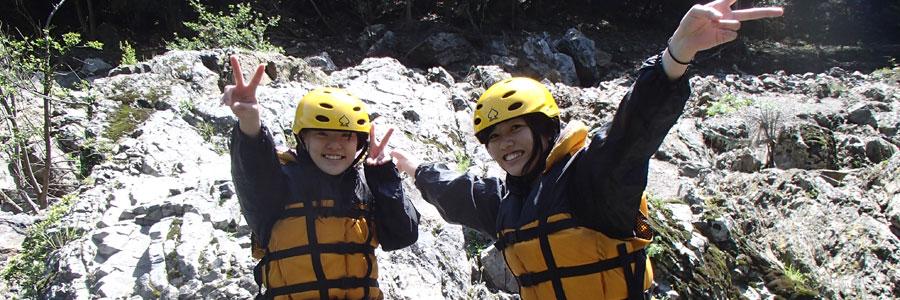飛び込み岩でパチリ